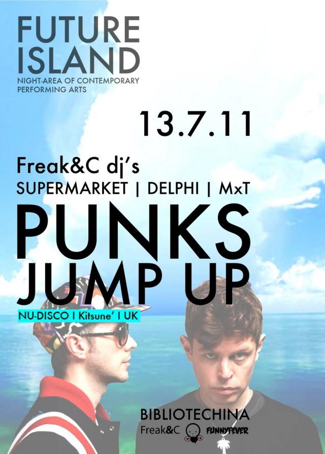 FUTURE ISLAND con i Punks Jump Up