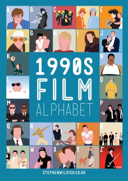 90's film alphabet