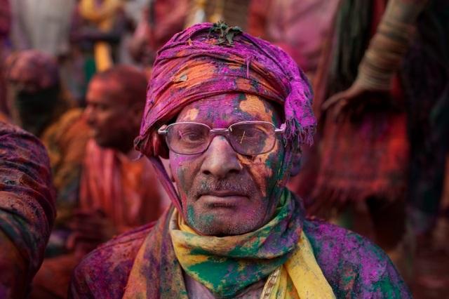 India Lathmar Holi