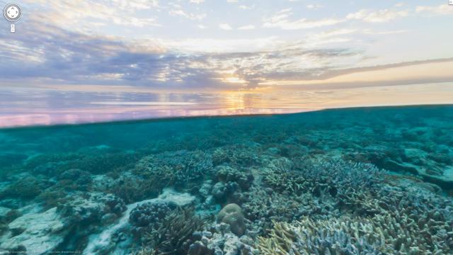 google tramonto subacqueo