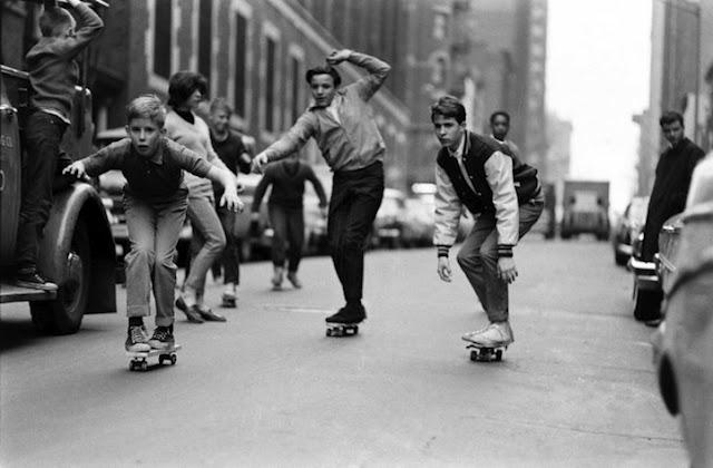 Lo skateboard a New York negli anni 60