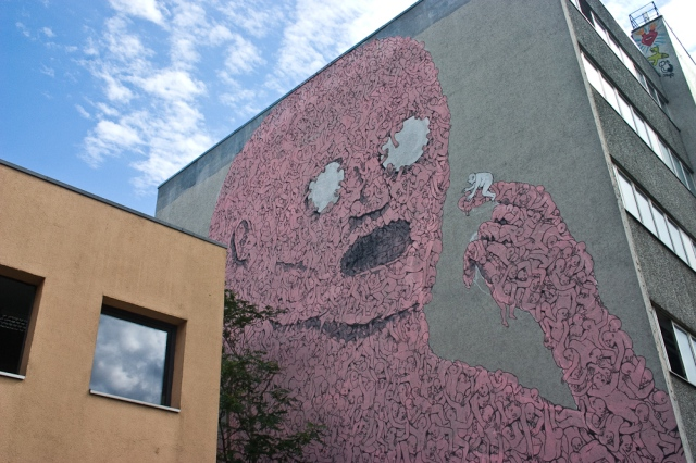 Blu Mural in Berlin