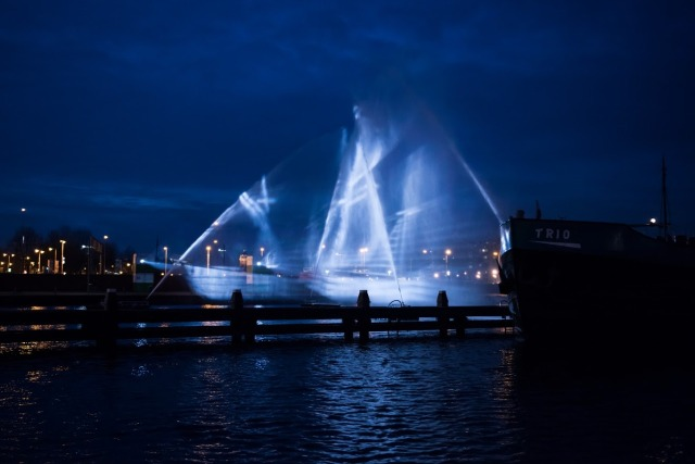ghost ship Amsterdam 2
